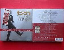 tiziano ferro the best of lo stadio tour 2015 box set 4 cd + 1 dvd live san siro
