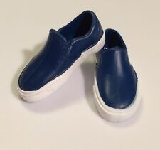 Barbie Ken Doll Clothes DARK BLUE LOAFERS SLIP ON TENNIS SHOES Vans Sneakers