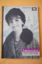 Konsument Versandhaus Katalog Herbst / Winter 1965 / 66, 164 Seiten