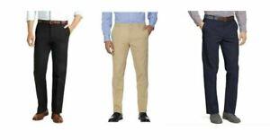 Mens IZOD Sportflex Max Straight Fit Chino Pants Wicking Stretch Quick Dry