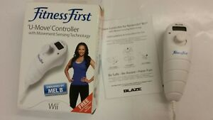 Fitness First U Move Exercise Gaming Motion Controller Pedometer Wii Mel B
