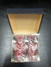 Set of 6 Unopened Bellini Belprata 90 Silverplated Demitasse Spoons