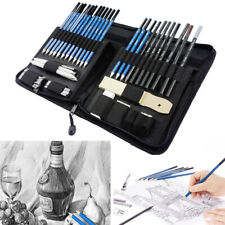 40pc Professional Sketching Drawing Set Art Pencil Kit Graphite Charcoal Artists