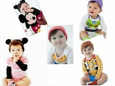 Sales!!! New Disney Baby Romper Outfit Set, Long Sleeve With Hat,Size at 0.1.2.3