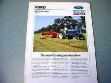 Ford New Holland 5900 Farm Tractor brochure                 lw