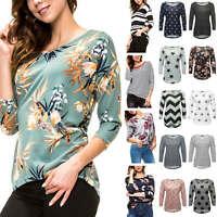 Only Damen Strickpullover Feinstrick Langarmshirt Print Damenpullover Pullover