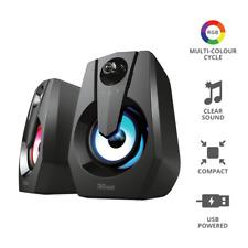 Trust Speaker Ziva RGB illuminati 2.0 Gaming Set Altoparlanti/casse PC Computer