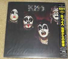 KISS CRAZY COLLECTION #1 JAPANESE VINYL LP WITH OBI