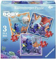3 x Puzzle Enfant Dory Nemo disney  pixar 25/36/49 Pièces
