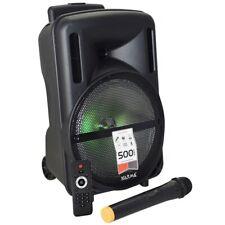 Karma HPSB 10 Diffusore Cassa Amplificata 500W con Radiomicrofono PMPO Portatile
