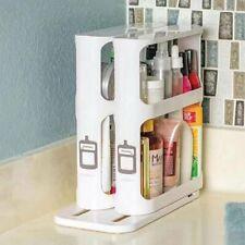 Kitchen Cabinet Modern Rotating Shelf Spice Organizer Storage Rack Space Saving