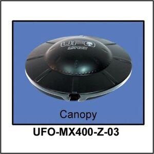 Walkera MX400 Painted UFO Canopy Black WALUFO-MX400-Z-03