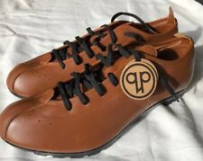 QUOC PHAM TOURER T103 CLEAT CYCLING URBAN ROAD SHOES COLOR TAN SIZE 47 EURO I700