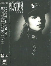 Janet Jackson ‎Rhythm Nation 1814 CASSETTE ALBUM RnB/Swing Pop Rock Downtempo