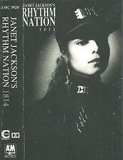 Janet Jackson Rhythm Nation 1814 CASSETTE ALBUM RnB/Swing Pop Rock Downtempo