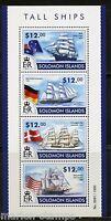 SOLOMON ISLANDS 2015 TALL SHIPS SHEET   MINT NH
