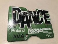 Roland SR-JV80-06 Dance Expansion Boardfor JV 1080 / 2080 / 3080 / Very Rare!