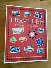 Hardly Used Harris Traveller Stamp Album