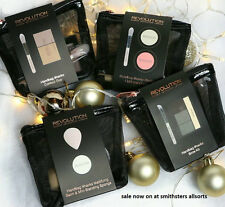 3 X BNWT REVOLUTION MAKE UP BEAUTY GIFT SETS INCLUDING BLUSHER, BALM, BROW KIT
