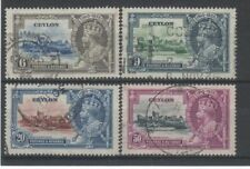 Used Postage Ceylon Stamps (pre-1948)