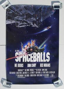 SPACEBALLS 1987 US ORG One Sheet MOVIE POSTER 1sh FILM Moranis CANDY Star Wars
