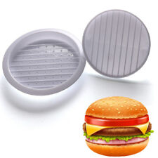 Hamburger Press Stuffed Burger Meat Grill Patty BBQ Burger Maker Mould Tool NEW