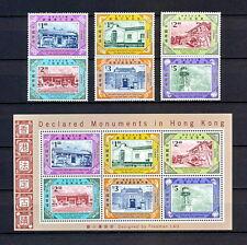 HONG KONG 213 MNH 2007 CHINA SOUVENIR SHEET DECLARED MONUMENTS ARCHITECTURE