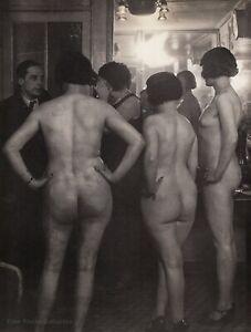 1932/76 Vintage BRASSAI Nude Female Prostitutes Introductions Duotone Photo Art