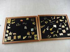 Lot de 58 anciens Pins / Pin's, instruments / notes de musique