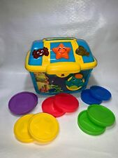 Baby Einstein Count Discover Treasure Chest 10 Coins complete 3 languages works