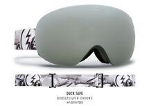 New Electric Eg3.5 Black Tape Brose Silver Mens ski snowboard goggles Ret$200