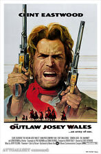 """The Outlaw Josey Whales - Movie Poster - (24""""x36"""") - Free S/H"""