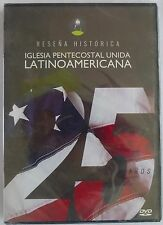 Resena Historica Iglesia Pentecostal Unida Latino Americana 25 Anos DVD  >Nuevo<