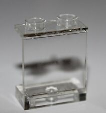 LeGo 2x Trans-Clear Window Panel 1 x 2 x 2 - Hollow Studs