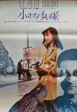 LE PETIT SOLDAT Japanese B2 movie poster JEAN-LUC GODARD ANNA KARINA NM