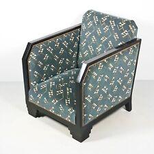 Art Deco Club Sessel Bergère Lounge Chair 1.Z