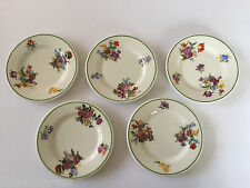 "5 Lamberton Scammell China Nathan Strauss & Sons Green Trim - 5-3/4"" BREAD PLATE"