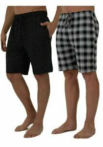 Men's Fruit of Loom Beyond Soft, Knit Performance, 2-Pack Sleep Short 2XL(44-46)