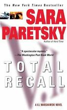 Total Recall Sara Paretsky V I Warshawski Mystery Chicago Holocaust Paperback