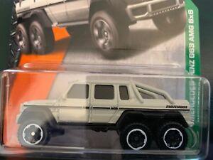 Matchbox #91 Mercedes-Benz G63 AMG Pick-up Truck 6x6