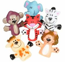 Zoo Animal Finger Puppets 12PIC GAME TOY KIDS GAME FREE SHIPPING GAMES BEST DEAL