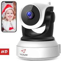 Victure WiFi IP Camera 720P HD Wireless w Night Vision Motion Detection, Audio