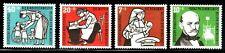 SELLOS TEMA MEDICINA. ALEMANIA FEDERAL  1956 119/22 4v.