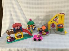 Fisher Price Little People Amusement Park  Fair Carnival, 6 Little People G8