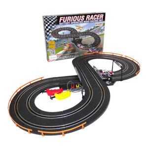 Rennbahn 232 cm Autorennbahn Komplettset Rennstrecke Auto car racing racingtrack