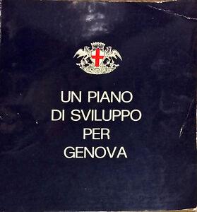 UN PIANO DI SVILUPPO PER GENOVA  - 1968