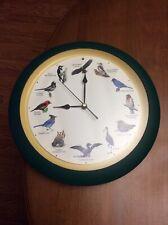 "Mark Feldstein & Associates MFA Inc. Singing Bird Clock 13"" 2003"