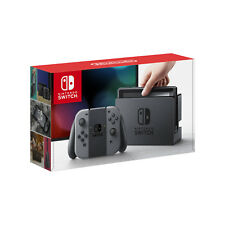 New Nintendo Switch 32GB Console with Grey Joy Controllers - Next Day Delivery
