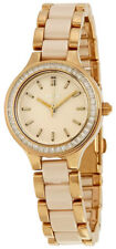 DKNY Women's NY2467 Chambers Crystal Two-Tone Stainless steel and Ceramic Watch