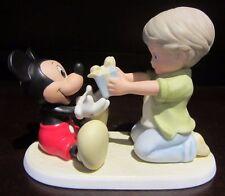 RARE Disney Enesco Mickey Mouse You Are A Gift To Me Ceramic Porcelain Figure